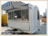 Ys-FT280c Popular Forte Aço Mold Mobile Kitchen Fast Food Trailer