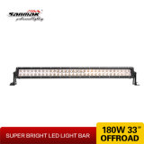 Popular Double Stack 33 pouces 180W Offroad LED Light Bar
