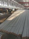 Tubos de condensação da série de tubo de aleta com alumínio com aletas, liga de cobre / aço inoxidável / aço carbono / tubo de núcleo de titânio, alumínio-aleta