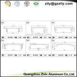 ISO9001를 가진 알루미늄 알루미늄 밀어남 모터 방열기