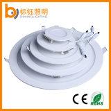 3W AC85-265V FlushbonadingのインストールLED軽い円形および正方形LEDのパネルの天井ランプ