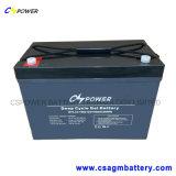 Bateria profunda do gel do ciclo da bateria do UPS de Cspower VRLA 12V 70ah