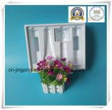 Bandeja de empacotamento blanquecina de PVC branco