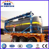 20FT 40FT chemischer ätzender Becken-Behälter, ISO-Behälter-Tanker für Verkauf