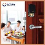 Orbita 304のステンレス鋼の電子キーレスほぞ穴のホテルのドアハンドルロック