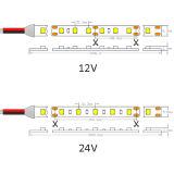 Aprobado por UL SMD LED flexibles de 1210 30 LEDs/M DE TIRA DE LEDS