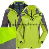 Полиэфирная ткань+ясно TPU+полярных флис для использования вне помещений Sportswear /одежды