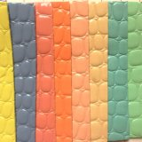 Het Leer van pvc van de Korrel van de steen voor het Maken van Handtassen