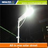 15W--réverbère 160W solaire avec le panneau solaire, le contrôleur et la batterie