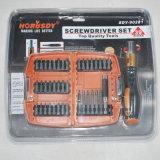 39PCスクリュードライバービットは工具セットをセットした