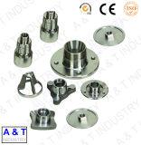 CNCの機械化の部品アルミニウムまたは真鍮かステンレス鋼の造られた機械化の部品