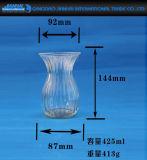 Держатель для свечи шикарной формы вазы стеклянный для домашних украшений
