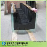 curva de 4mm e produtor de vidro ultra branco liso da escala da capa para a capa da escala do aparelho electrodoméstico