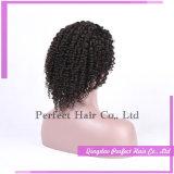 インドの女性の毛のかつらのスムーズで新しく自然な人間のかつらの毛