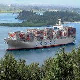 Logística do recipiente do caminhão do transporte de Ningbo/China a Uraba Surabaya Indonésia