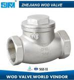 H14W-4 da válvula de retenção de abertura e fechamento de Aço Inoxidável