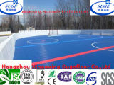 Verschobenes Interlocking mit Response Tile Mini Hockey Rink Flooring