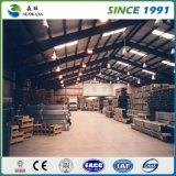 높은 공간 이용 Prefabricated 가벼운 강철 구조물 작업장