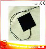 40*40*1.5mm Thermostaat 10wattage 12/24V Ingebed in de Verwarmer van Ruber van het Silicone