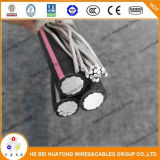 Низкое напряжение тока 600 алюминиевого вольтов типа кабеля входа обслуживания Ser Ser