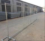 6FT*10FT S.U.A. hanno galvanizzato la rete fissa provvisoria di collegamento Chain della costruzione