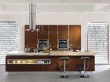 현대 높은 광택 있는 래커 부엌 찬장 제조자 (zz-067)