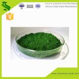 Le revêtement en plastique et en oxyde de chrome de pigment vert
