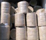 Isolamento térmico térmica manta de lã de rocha com malha de arame