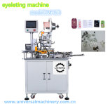 Máquina de perfuração do ilhó para o Hangtag