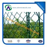 Дешевый используемый сад гальванизированным и звеном цепи PVC загородка