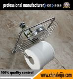 Panier de douche de miroir de salle de bains d'acier inoxydable