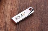 Movimentação do flash do polegar do USB do cartão de memória de Pendrives do cartão instantâneo do USB do disco instantâneo de cartão de memória do USB da vara do USB do logotipo do OEM do metal da movimentação do flash do USB mini