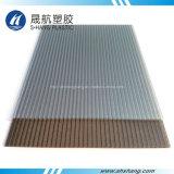 Scheda di plastica glassata del policarbonato doppio per il tetto della costruzione