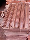 Machine à brique de bois à biomasse à vis (ZBJ)