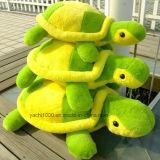 L'animale della tartaruga farcito peluche scherza il giocattolo