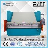 Freno hidráulico de la prensa hidráulica de la máquina de la prensa del freno de la prensa de la placa (125T/4000m m)