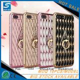 Geval van Bling Bling van de Telefoon van de driehoek het Mooie Mobiele voor Samsung S8
