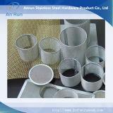 Filtres à tambour profonds en fil métallique en acier inoxydable