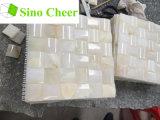 Precio del azulejo de mosaico del mármol de Onyx del blanco chino
