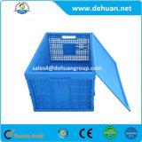 Envase plegable plástico para el almacenaje