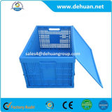 Recipiente dobrável plástico para o armazenamento
