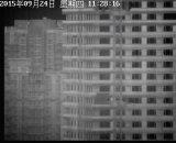 森林火災の検出のための屋外の統合された熱監視カメラ
