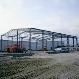 Schneller Aufbau-Stahlgebäude mit niedrigen Preisen