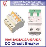 Tensão Alta 1000V DC disjuntor 10A a 63A