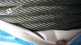 クレーンのためのUnlvanizedの鋼線ロープ