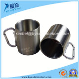 tazza rampicante della tazza di corsa del metallo 220ml