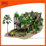 Mich interior macio Playground com elementos de dinossauro