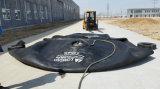 Defensa marina de goma protegida del barco de Yokohama del encadenamiento de neumático
