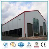 SGS утвердил Сборные стальные рамы портала освещения структура практикума на заводе (SH-670A)