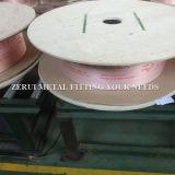 Tubo llano del cobre de la bobina de la herida para el acondicionador de aire de Haier